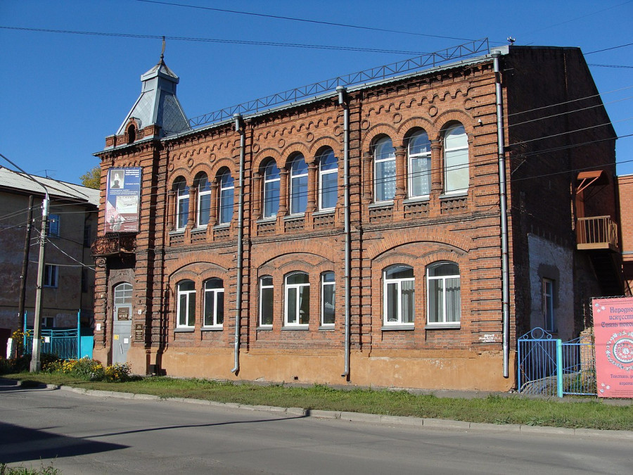 Здание музея на улице Горького.