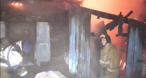 Пожар в Бийске.