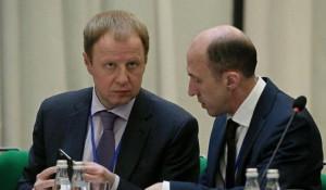 Виктор Томенко и Олег Хорохордин.
