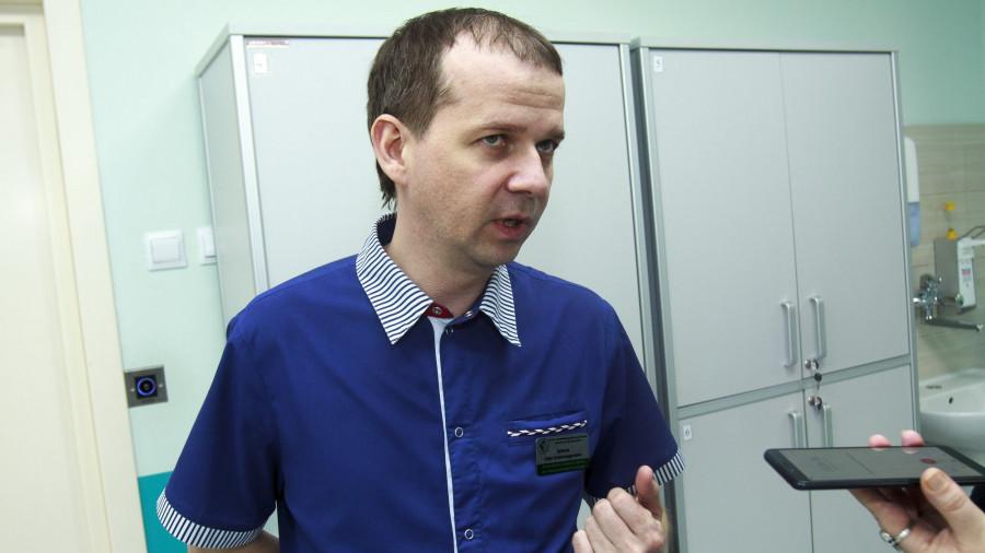 Заместитель главного врача по педиатрической помощи центра «Дар» Олег Зуйков.
