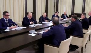 Встреча Путина с инвесторами.