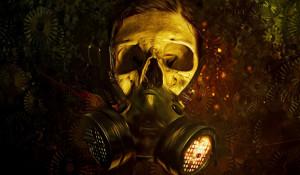 Газовая маска.