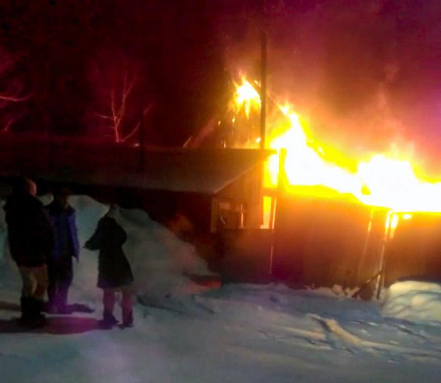 Пожар в Республике Алтай.