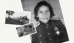 Майор медицинской службы Елена Иосифовна Поляк