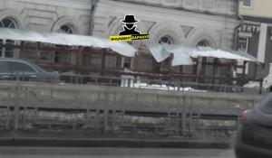 Проход в центре Барнаула