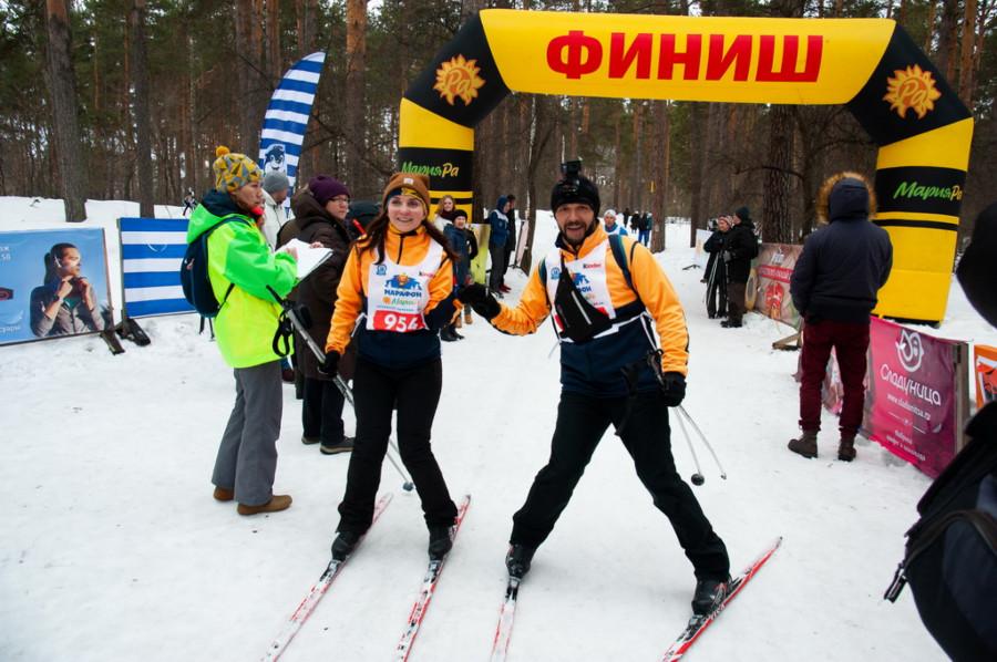 Пятый лыжный марафон Мария-Ра.