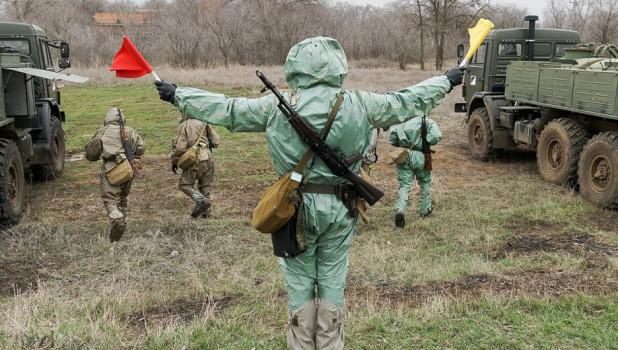 Специалисты РХБ защиты Минобороны РФ.