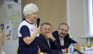 Встреча со спортсменкой Людмилой Колобановой.