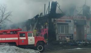 Пожар в Ребрихе, 19 марта 2020 года.