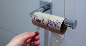 Без паники. Туалетная бумага.