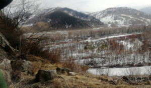 Весна в Тигирекском заповеднике.