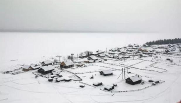 Деревня староверов. Красноярский край.