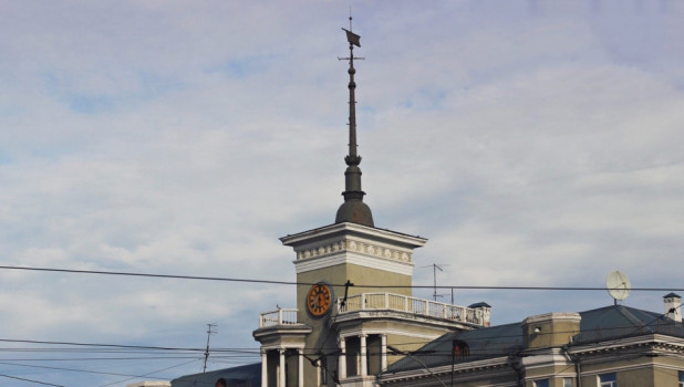 Барнаул. Дом под Шпилем.