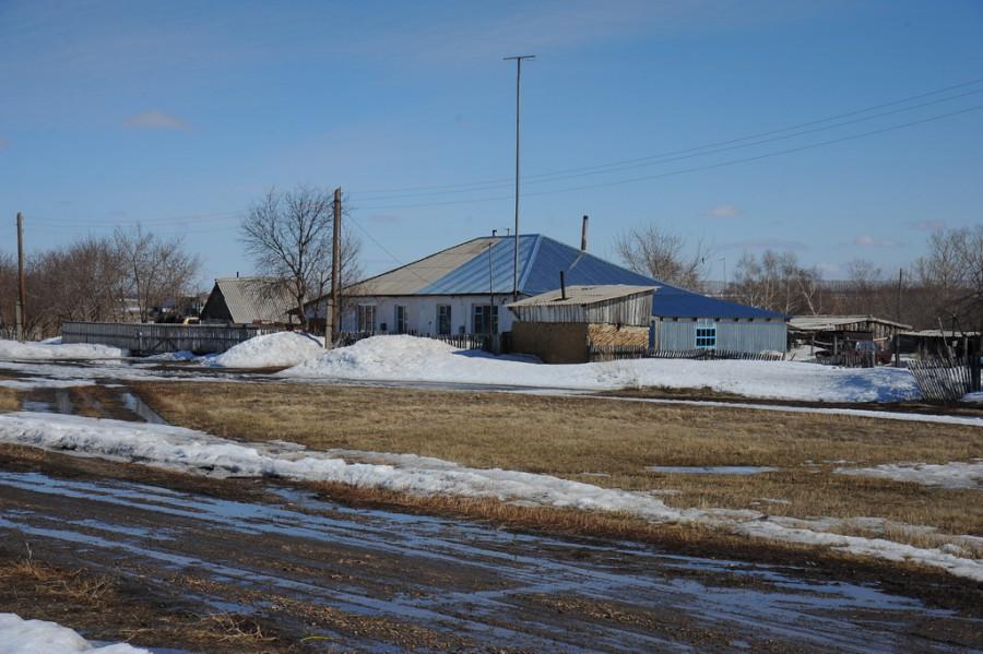Поселок Защита Шипуновского района.