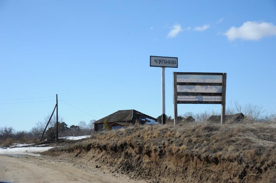 Поселок Чупино Шипуновского района.
