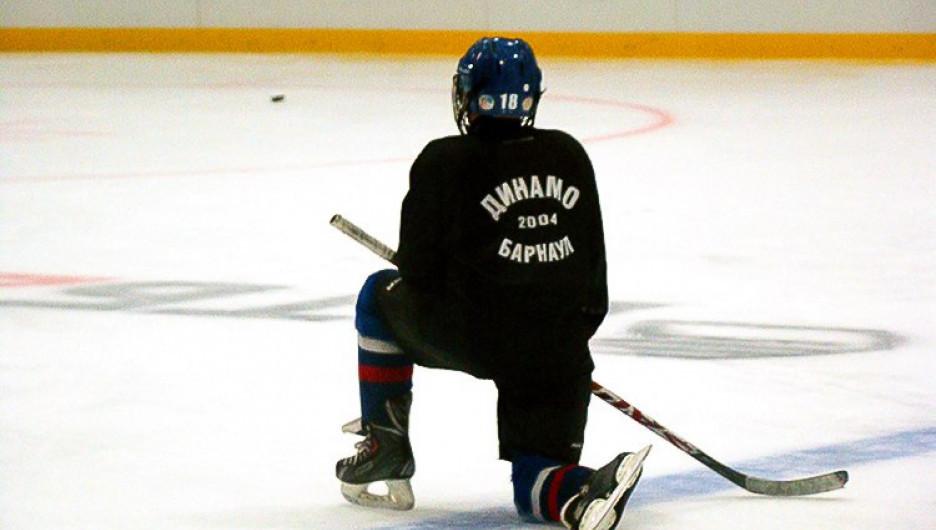 """Воспитанники хоккейной школы """"Динамо"""" на """"Карандин-Арене""""."""