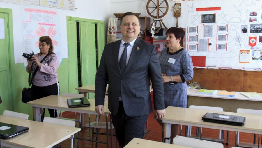 Школа. Заринский район.