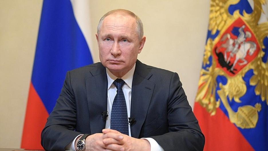 Владимир Путин обратился к нации.