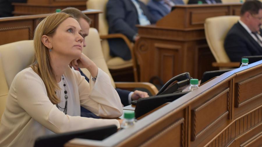 Оксана Абрамова, депутат АКЗС от ЛДПР.