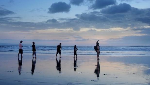 Пляж, Бали. Отпуск.
