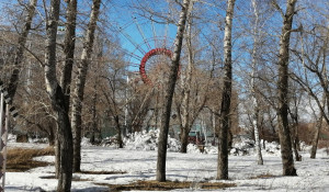Колесо обозрения в парке «Изумрудный»