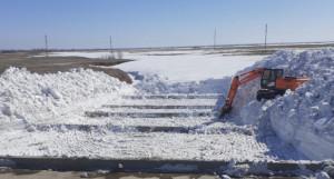 Алтайские дороги готовят к паводку.