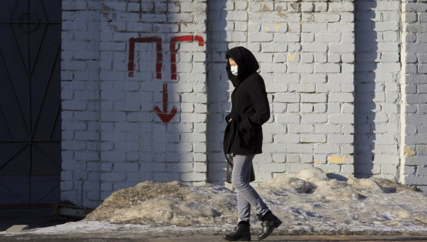 Первый день карантина из-за коронавируса в Барнауле.