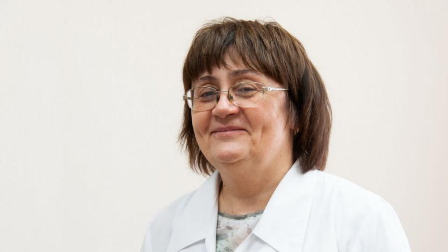 Главный врач горбольницы №5 Ирина Вильгельм.