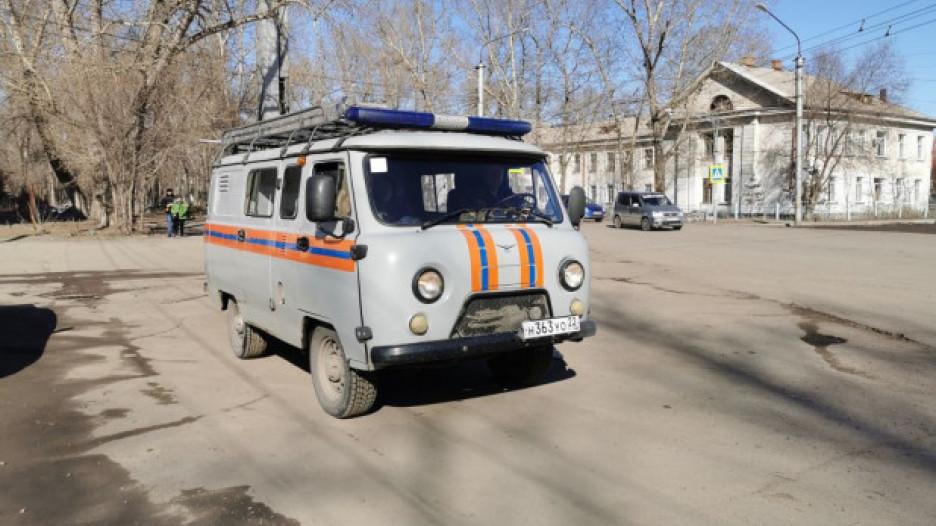 Агитмобиль в Рубцовске.