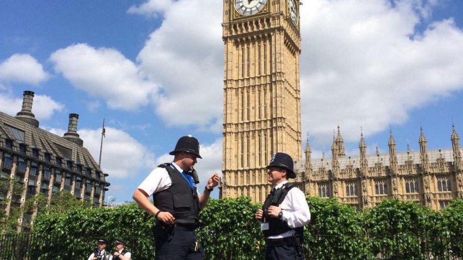 Полиция Лондона.