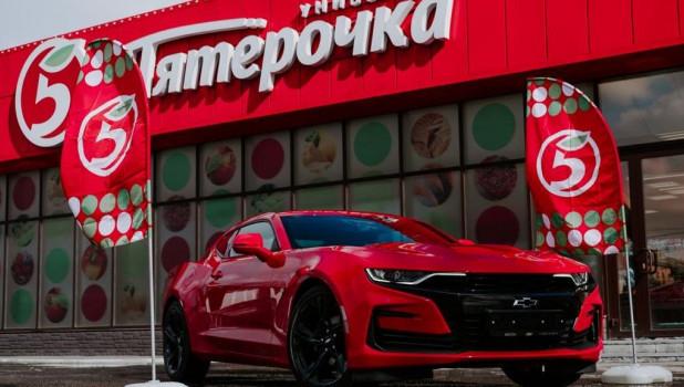 «Пятёрочка» подарила автомобиль жительнице Сибири.