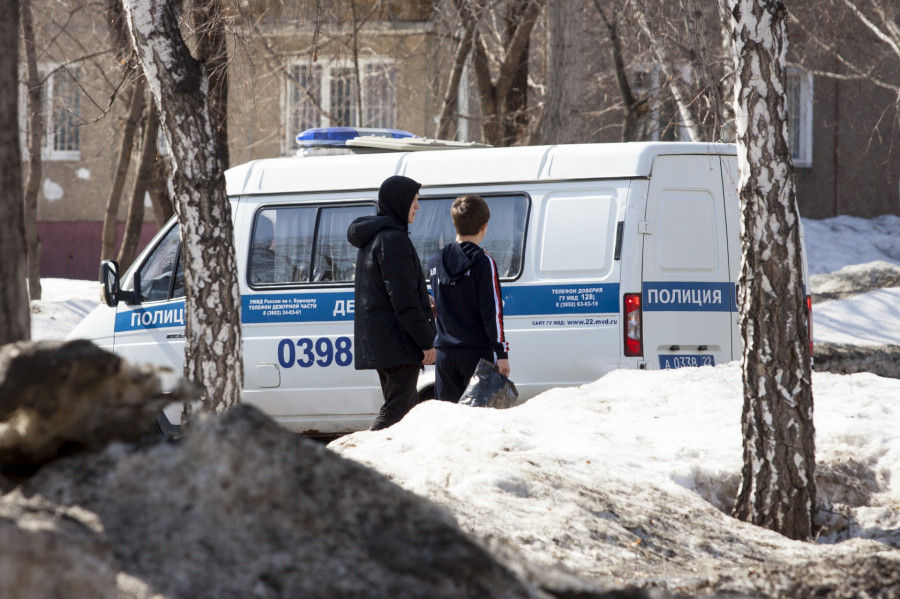 Барнаул. Пандемия коронавируса.