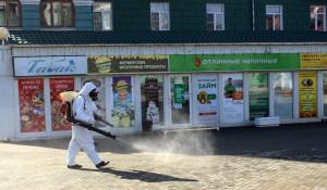 Дезинфекция от коронавируса в Барнауле.