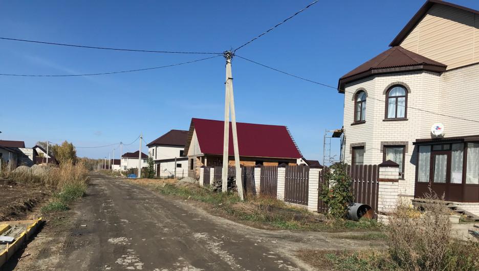 Поселок Центральный в Барнауле.