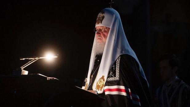Патриарх Кирилл, апрель 2020.
