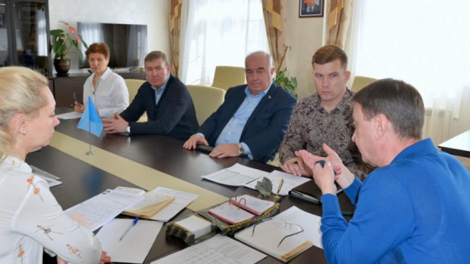 Встреча перевозчиков с главой города 4 апреля 2020 года.