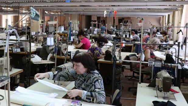 Производство масок в Алтайском крае.