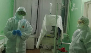 Алтайские медики на борьбе с коронавирусом.