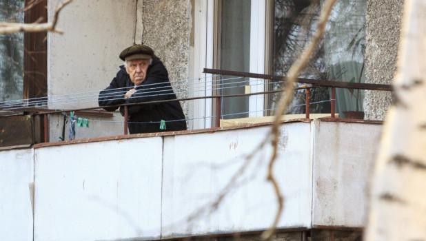 Барнаул. Весна. Пандемия коронавируса.