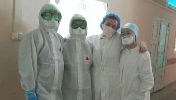 Врачи Алтайского края на борьбе с коронавирусом.