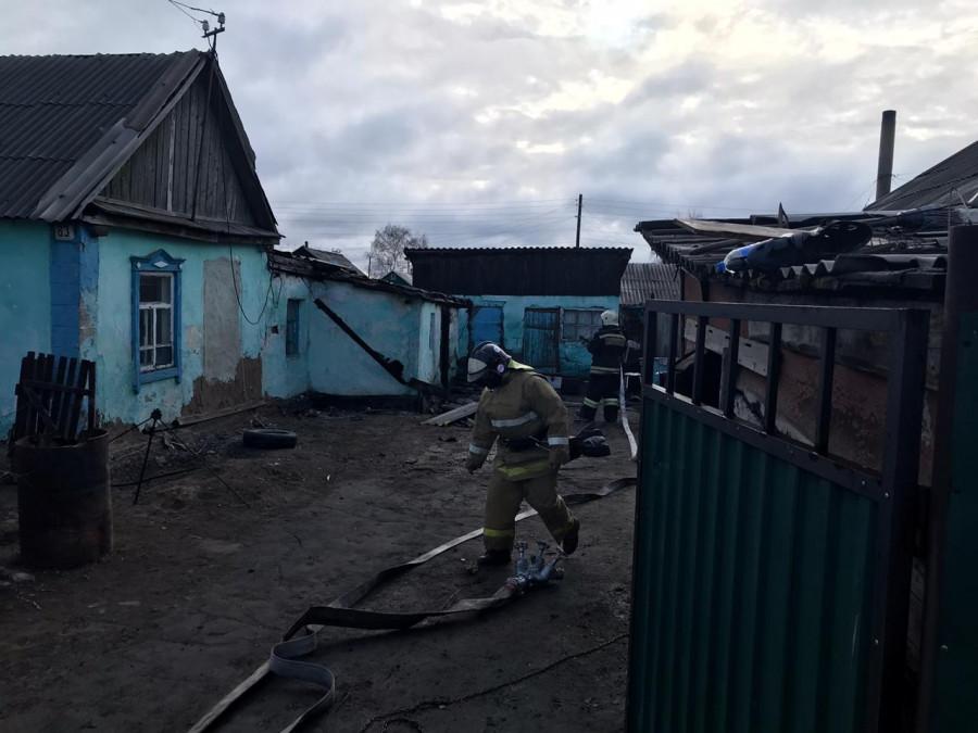 Пожар в Славгороде.