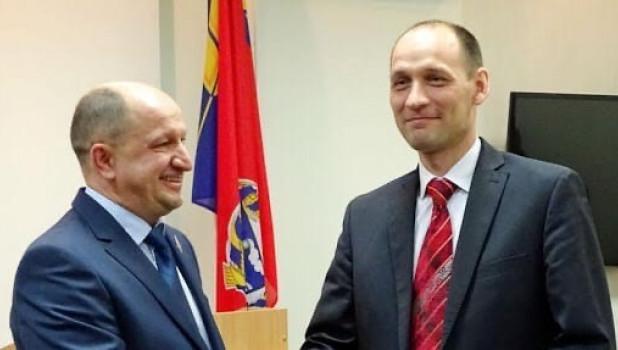Александр Лаговский (справа)