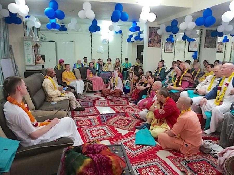 Русский дом кришнаитов в Индии.