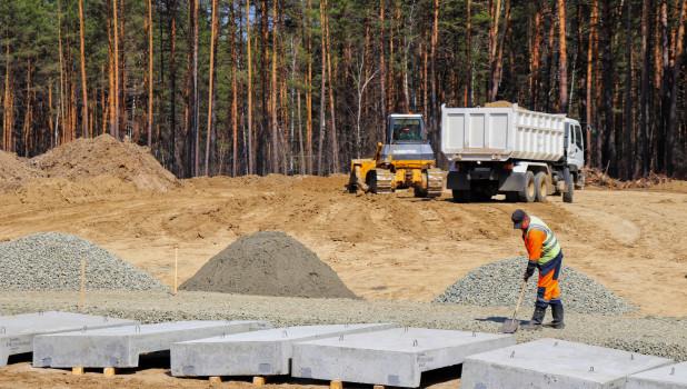 На Чуйском тракте приступают к строительству двухуровневой развязки.