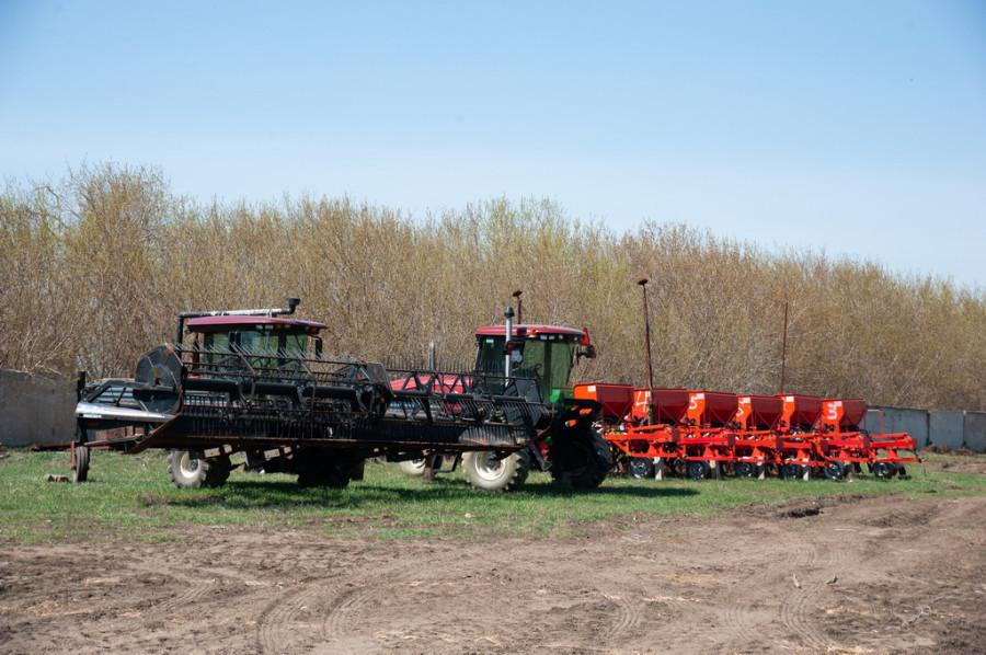 Сельское хозяйство. Техника.
