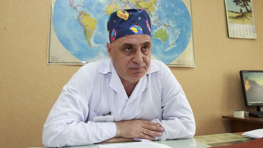 Хирург-онколог Виталий Тарабукин.