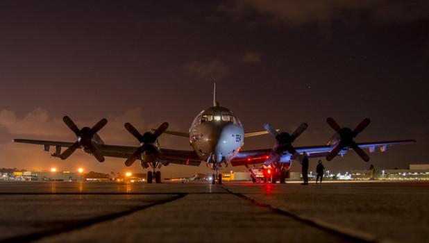 Ночь, аэропорт