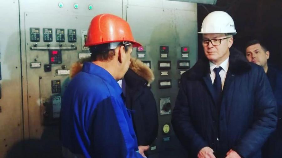 На ТЭЦ Ярового, ноябрь 2019 года.