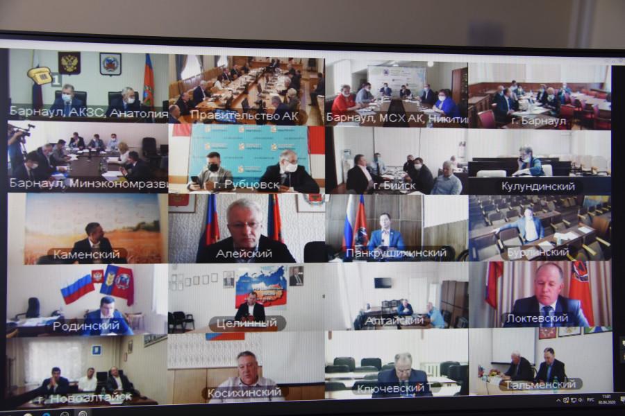 Депутаты АКЗС на сессии 30 апреля 2020 года.