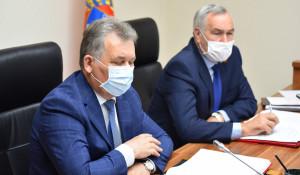 Александр Романенко и Сергей Серов на сессии 30 апреля 2020 года.